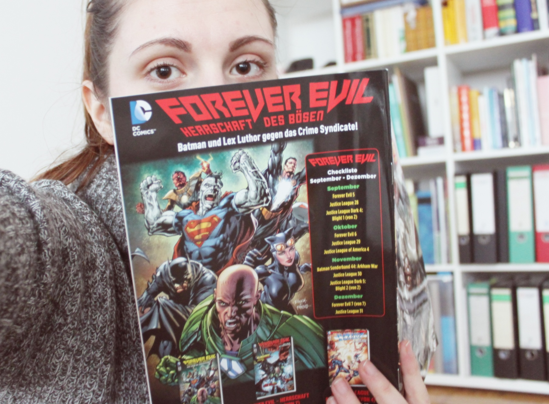 meri read comic