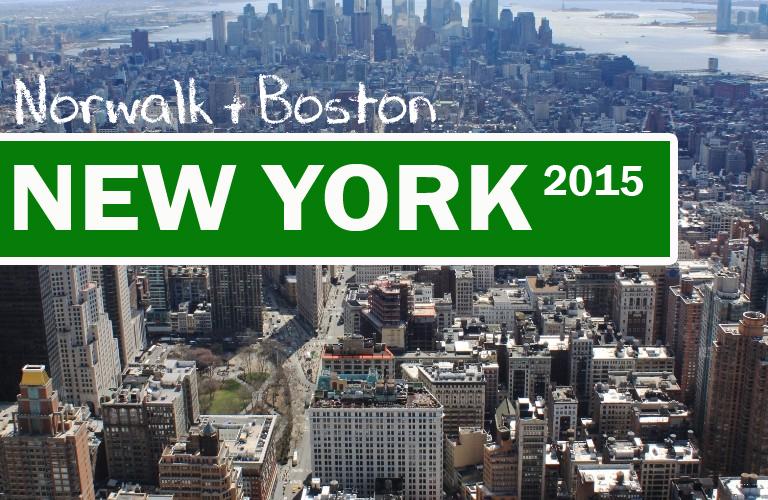 TRAVEL: New York 2015 – Norwalk & Boston