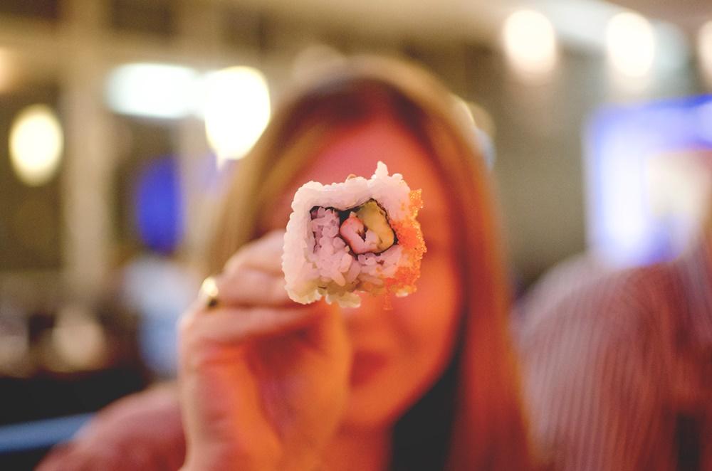 LIFE: Sushi essen