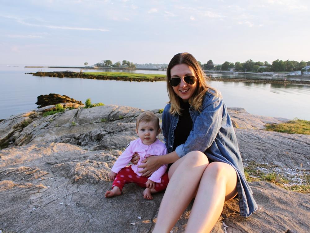 Cove Island Park Me + Lili