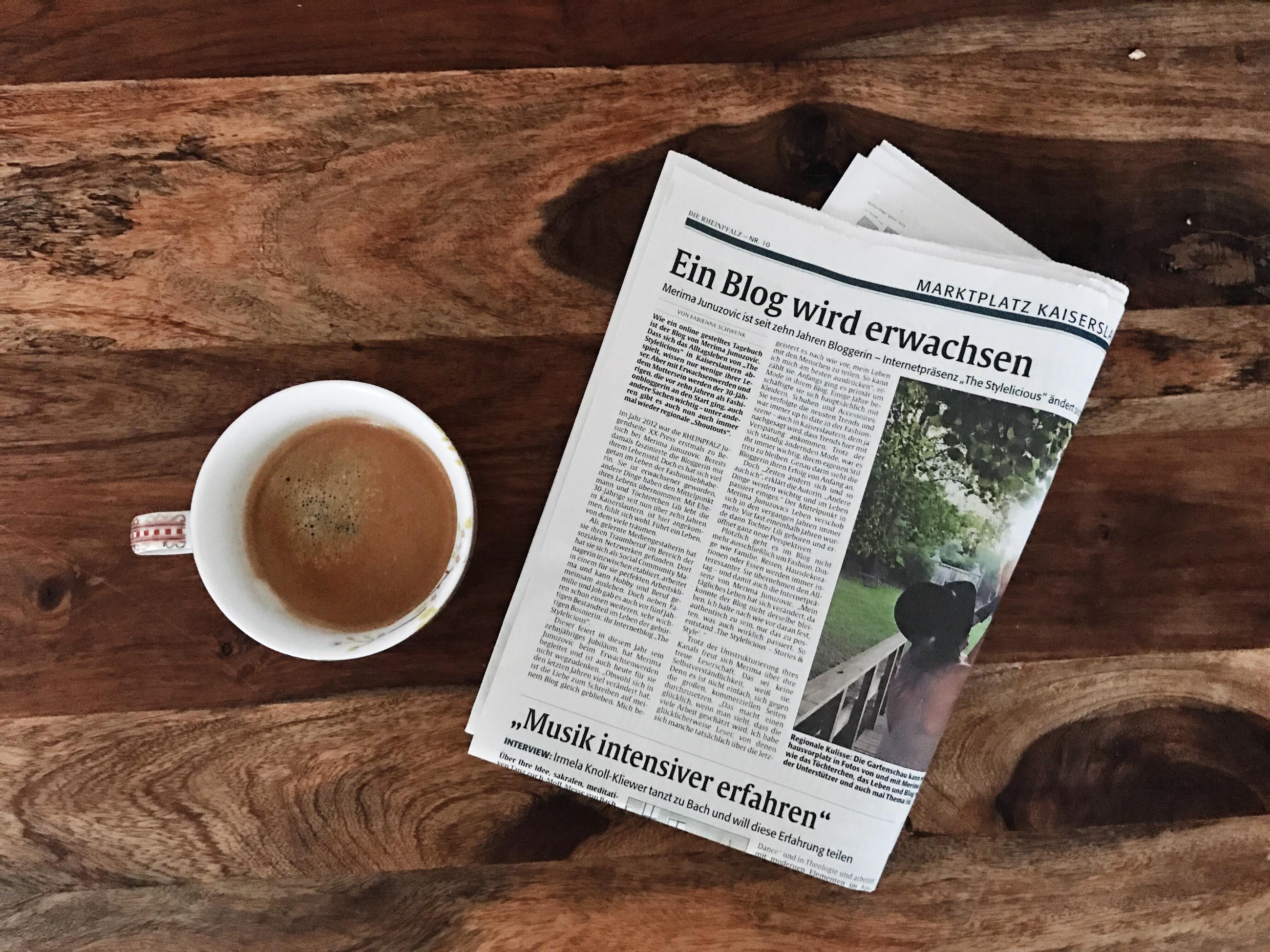 RHEINPFALZ: Ein Blog wird erwachsen